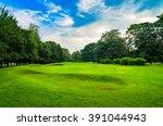 Nature Background Of Landscape...