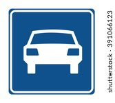netherlands limited access road ... | Shutterstock .eps vector #391066123