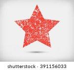 grunge star background.vector...