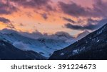 swiss alps | Shutterstock . vector #391224673