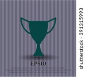 trophy high quality icon | Shutterstock .eps vector #391315993