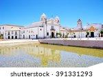 square of lagos city in algarve ...   Shutterstock . vector #391331293
