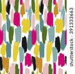 bright seamless vector pattern... | Shutterstock .eps vector #391333663
