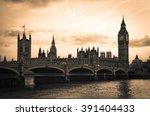 london skyline | Shutterstock . vector #391404433