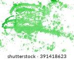 watercolor  drops   green...   Shutterstock .eps vector #391418623