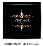 vintage background  antique ...   Shutterstock .eps vector #391543063