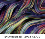 wavy abstract background | Shutterstock . vector #391573777