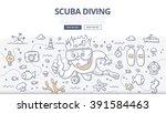 doodle vector illustration of... | Shutterstock .eps vector #391584463