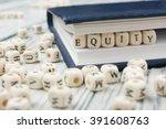 equity word written on wood...   Shutterstock . vector #391608763