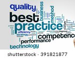 Best Practice Concept Word...