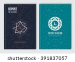 business brochure design... | Shutterstock .eps vector #391837057