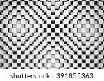 black and white  abstract... | Shutterstock . vector #391855363