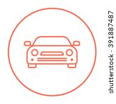 car line icon. | Shutterstock .eps vector #391887487