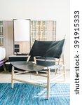modern chair furniture... | Shutterstock . vector #391915333
