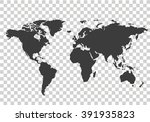 world map | Shutterstock .eps vector #391935823