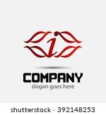 letter i  | Shutterstock .eps vector #392148253