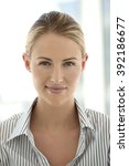 portrait of a young white collar   Shutterstock . vector #392186677
