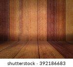 wooden wall for web application ... | Shutterstock . vector #392186683