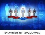 business network | Shutterstock . vector #392209987