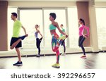 fitness  sport  training  gym... | Shutterstock . vector #392296657