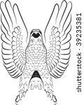 eagle | Shutterstock .eps vector #39235381