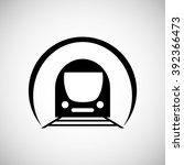 transportation icon design | Shutterstock .eps vector #392366473