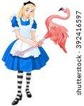 Illustration Of Cute Alice...