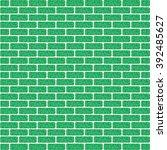Green Brick Wall Background ...