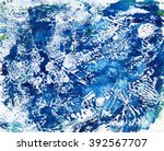 abstract watercolor colorful... | Shutterstock . vector #392567707