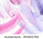 splash daub brush paint design... | Shutterstock .eps vector #392602783
