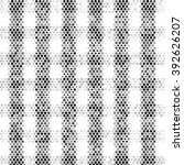black white and gray checkered... | Shutterstock .eps vector #392626207