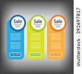 web sale banner | Shutterstock .eps vector #392697817