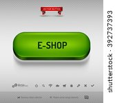 green button for webdesign or...   Shutterstock .eps vector #392737393
