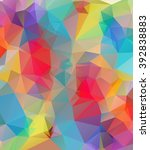 abstract multicolor background. ... | Shutterstock .eps vector #392838883