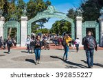 berkeley  california   march 16 ... | Shutterstock . vector #392855227