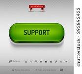 green button for webdesign or...   Shutterstock .eps vector #392893423