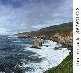 Big Sur Coastline Looking North