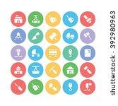 construction vector icons 7 | Shutterstock .eps vector #392980963