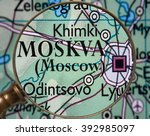 moscow   Shutterstock . vector #392985097