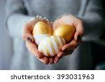 Hands Holding Modern  Easter...