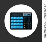 music icon design | Shutterstock .eps vector #393126457