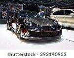 Постер, плакат: 2016 Porsche 991 Turbo
