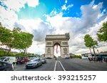 paris  france   may 09  2014  ... | Shutterstock . vector #393215257