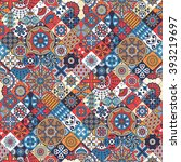 seamless pattern. vintage...   Shutterstock .eps vector #393219697