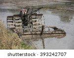 farmer machinery    wet type... | Shutterstock . vector #393242707