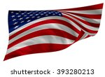 american flag | Shutterstock . vector #393280213