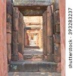 prasat pueai noi is a place... | Shutterstock . vector #393283237