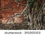 Ancient Brick Wall Of Wat...