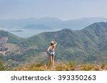 Woman Tourist Admiring Great...
