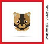 puma head icon | Shutterstock .eps vector #393350683